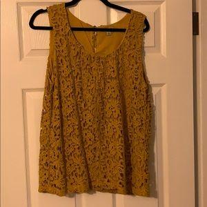 Lucky Brand sleeveless top size L